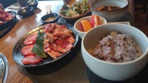 韓の台所の料理写真