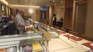 寿司清の店内の写真