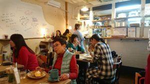 松涛カフェの店内