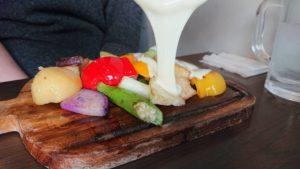 ラクレットチーズの写真