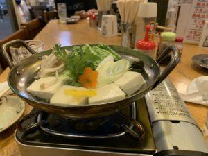 多古菊湯豆腐