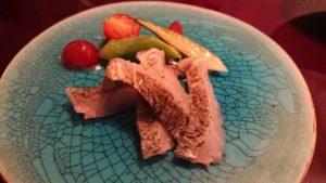 太刀魚の燻製